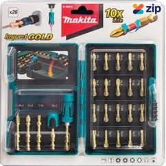 Makita B-49915 - 26PC Gold Torsion Screwdriver Bit Set Makita Accessories