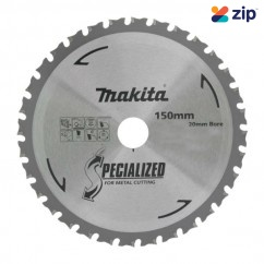 Makita B-47139 - 150 x 20mm 60 Teeth Stainless Steel TCT Saw Blade for DCS551Z Makita Accessories