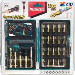 Makita B-49921 - 26PC Gold Torsion Screwdriver Bit Set Makita Accessories
