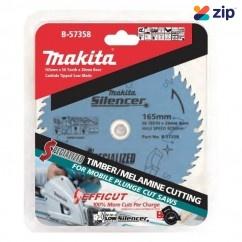 Makita B-57358 - 165mm 56 Teeth High Performance TCT Saw Blade Makita Accessories