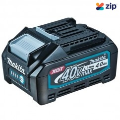 Makita BL4040 - 40V Max 4.0Ah Li-ion XGT Cordless Battery with Gauge 191B26-6 Batteries