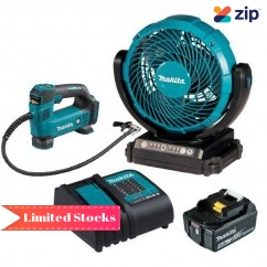 Makita DCF102ST - 18V 180mm Jobsite Fan Kit