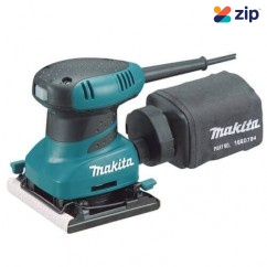 Makita BO4556K - 240V 200W Finishing Palm Sander 240V Sanders - Orbital