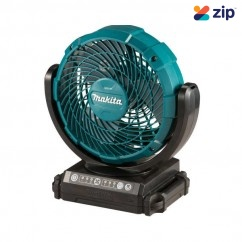 "Makita CF101DZ - 12V MAX 180mm (7"") Cordless Timer Function Swing Neck Jobsite Fan Skin Fans & Ventilators"