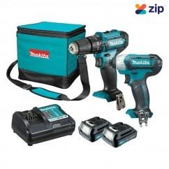 Makita CLX239 - 12V 1.5AhMax 2 Piece Cordless Combo Kit Combo Kits up to 12v