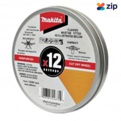 Makita COW125X1.2-12 - 125mm INOX Cut Wheels 12Pk D-20535-12