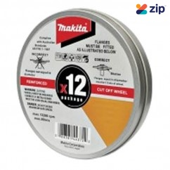 Makita COW125X1.2-12 - 125mm INOX Cut Wheels Stainless Steel  12Pk D-20535-12 Makita Accessories