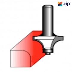 "Makita D-08028 - 1/2"" Shaft 15.9mm TCT Rounding Over Bit (Bearing) Router Bits"