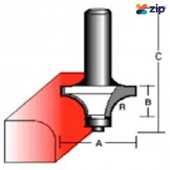 "Makita D-15497 - 9.5 mm 1/4"" Shaft Rounding Over TCT Bit (Bearing) Router Bits"