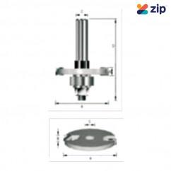 "Makita D-15556 - 1/2"" Shaft 4mm Slot Cutter Assembly Slotting Cutter"
