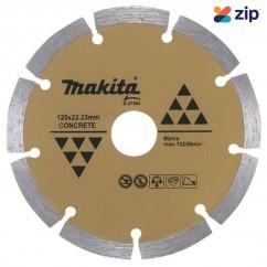 Makita D-37568 - 125 x 22.2mm Segmented Long Life Concrete Wheel Blade