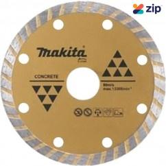 Makita D-37605 - 125 X 22 mm Long Life Diamond Blade Turbo Makita Accessories
