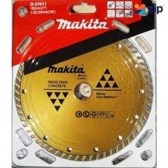 Makita D-37611 - 180 X 22.23mm Diamond Blade Turbo Makita Accessories