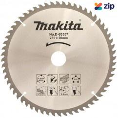 Makita D-63557 - 235mm x 30 x 60T Multi Purpose TCT Saw Blade  Makita Accessories