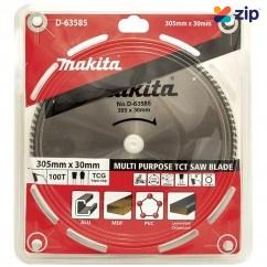 Makita D-63585 - 305mm x 30 x 100T Multi Purpose TCT Saw Blade  Makita Accessories
