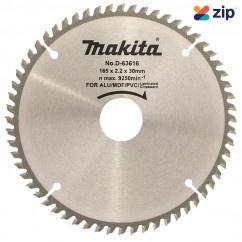 Makita D-63616 - 165 x 30 x 60T Multi Purpose TCT Saw Blade Makita Accessories