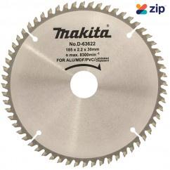 Makita D-63622 - 185 x 30 x 60T Multi-Purpose TCT Saw Blades Makita Accessories