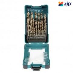 Makita D-67577 - 25 Piece 1-13mm HSS-Cobalt Drill Bit Set Makita Accessories