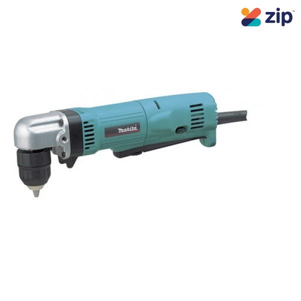 Makita DA3011F - 240V 450W 10mm Angle Drill 240V Drills - Angle Head