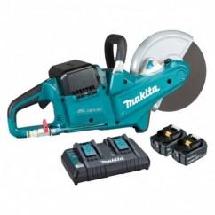 "Makita DCE090PT2 - 18Vx2 230mm (9"")  Brushless Cordless Powercut Kit Demolition Saws"