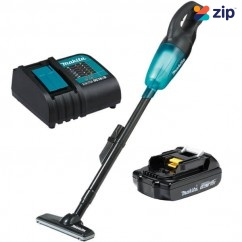 Makita DCL180SYB - 18V 30W  1.5Ah Cordless Stick Vacuum Cleaner Kit Cordless Vacuums