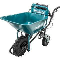 Makita DCU180ZB - 36V (2 x 18V) Cordless Brushless Wheelbarrow, Bucket Wheelbarrows & Trolleys