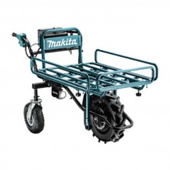 Makita DCU180ZF - 36V (18Vx2) Cordless Brushless Wheelbarrow, Pipe Frame Wheelbarrows & Trolleys