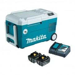 Makita DCW180RTE - 18V 20L 5.0Ah Cooler & Warmer Kit Tool Bags