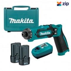 Makita DF012DSE - 7.2V 1.5Ah Cordless Driver Drill Kit Drill Drivers