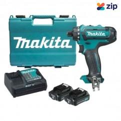 "Makita DF031DSAE - 12V Max 2.0Ah CXT Cordless 1/4""Hex Chuck Driver Drill Kit Cordless Drills"