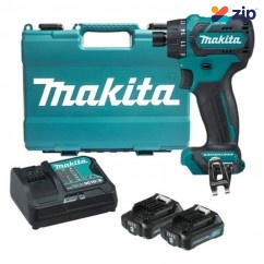 "Makita DF032DSAE - 12V Max Cordless Brushless 1/4"" Hex Chuck Driver Drill Kit Cordless Drills - Angle Head"