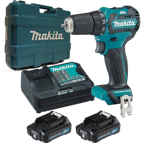 makita df332dsae 12v max cordless brushless driver drill kit. Black Bedroom Furniture Sets. Home Design Ideas