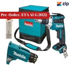Makita DFS250ZX2 - 18V Cordless Brushless High Torque Screwdriver Skin Screwdrivers