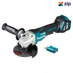 Makita DGA518ZU - 18V 125mm Cordless Brushless AWS Paddle Switch Angle Grinder Skin Skins - Grinders Angle