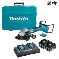 "Makita DGA701T2U1 - 36V (18Vx2) 5.0Ah Brushless AWS 180mm (7"") Angle Grinder Kit"