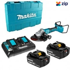 "Makita DGA901T2U1 - 36V (18Vx2) 5.0Ah Brushless AWS 230 (9"") Angle Grinder Kit"