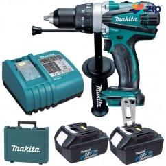Makita DHP458RFE - 18V Cordless Hammer Drill Kit Cordless Drills - Impact
