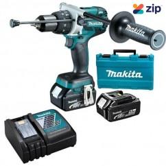 Makita DHP481RTE - 18V Cordless Brushless Hammer Driver Drill Kit Cordless Drills - Impact