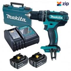 Makita DHP482RTE - 18V 5.0Ah Cordless Hammer Driver Drill Kit Cordless Drills