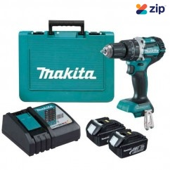Makita DHP484RFE - 18V 3.0Ah Brushless Heavy Duty Hammer Driver Drill Kit
