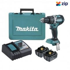 Makita DHP484RTE - 18V 5.0Ah Cordless Brushless Heavy Duty Hammer Driver Drill Kit Cordless Tool Kits