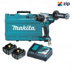 Makita DHP486RTE - 18V 5.0Ah Li-Ion Brushless Hammer Driver Drill Kit Combo Kits 18v