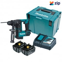 Makita DHR171RTJ - 18V 17mm Cordless Brushless SDS Plus Rotary Hammer Kit Rotary Hammer Drills