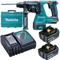 Makita DHR242RTE - 18V Cordless 5.0Ah Brushless Rotary Hammer Kit Cordless Drills - Impact