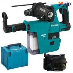 Makita DHR242ZJV - 18V Cordless Brushless Rotary Hammer Dust Extraction Kit Cordless Tool Kits