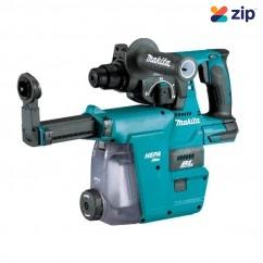 Makita DHR242ZJW - 18V 24mm SDS Plus Brushless Rotary Hammer Skin w/ Dust Extraction Adaptor Rotary Hammer Drills