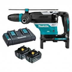 Makita DHR400G2N - 18Vx2 Cordless Brushless AWS* 40mm SDS Max Rotary Hammer Kit Cordless Rotary Hammers