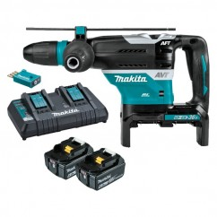 Makita DHR400G2UN - 18Vx2 Cordless Brushless AWS 40mm SDS Max Rotary Hammer Kit Cordless Rotary Hammers