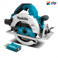 "Makita DHS781ZU - 36V (18Vx2) Brushless Cordless AWS 185mm (7-1/4"") Circular Saw Skin Circular Saws"