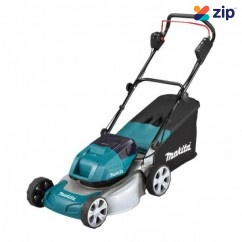 "Makita DLM460Z - 36V (18Vx2) 460mm 18"" Cordless Brushless Lawn Mower Skin"